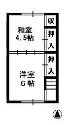 [テラスハウス] 新潟県上越市子安新田 の賃貸【/】の間取り