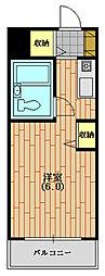 ウィンベルソロ西武球場第二[201(生活保護受給者支援)号室]の間取り