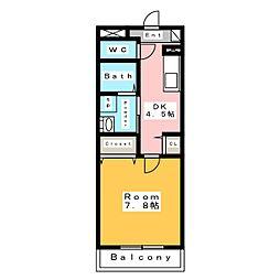 新築 スカイ・ピアII[3階]の間取り