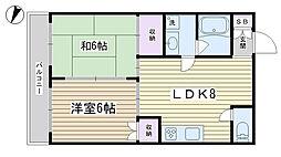 コア千駄木[2階]の間取り