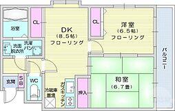 薬師堂駅 6.7万円