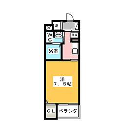 ラシュレ[2階]の間取り