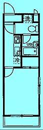 クレイドル溝の口[1階]の間取り