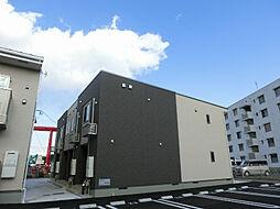 福岡県北九州市小倉南区津田1丁目の賃貸アパートの外観