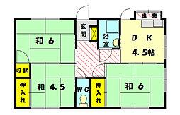 [一戸建] 福岡県糟屋郡新宮町下府1丁目 の賃貸【/】の間取り