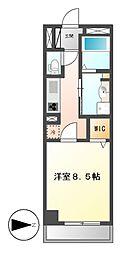 カスタリア新栄II(ロイジェント新栄I)[9階]の間取り