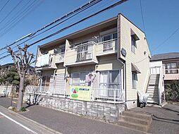 埼玉県川越市霞ケ関東5丁目の賃貸アパートの外観