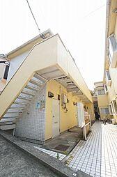 神奈川県横浜市神奈川区三ツ沢東町の賃貸アパートの外観