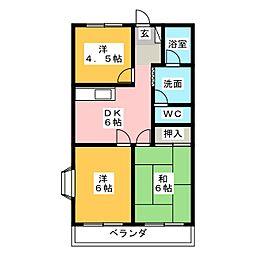 グランドハイム21[2階]の間取り