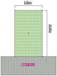 ((建築条件無))  東大阪市桜町 売土地