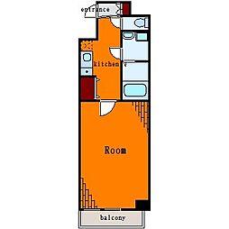 オーバス東陽町[3階]の間取り