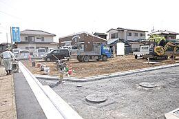 敷地面積51坪なので建物やカースペースをゆったり配置でき、お洒落な玄関アプローチも実現可能です。