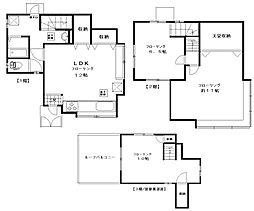 [テラスハウス] 東京都杉並区善福寺3丁目 の賃貸【/】の間取り