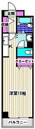 サニーパレス[3階]の間取り