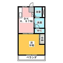 ケルンII[1階]の間取り