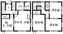 [一戸建] 静岡県浜松市東区篠ケ瀬町 の賃貸【/】の間取り