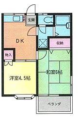 ダウンタウン323[2階]の間取り