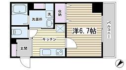 東京都北区昭和町1丁目の賃貸マンションの間取り