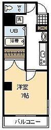 宮崎県宮崎市松山1丁目の賃貸アパートの間取り