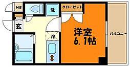 ガラ・ステージ田園調布 bt[2階]の間取り