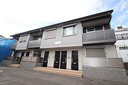 広島県広島市佐伯区美の里1丁目の賃貸アパートの外観