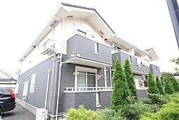 埼玉県越谷市宮本町2丁目の賃貸アパートの外観