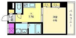 ゴールデン ヒルズ 3番館[4階]の間取り
