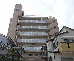 京都府向日市森本町上町田の賃貸マンションの外観