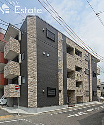 愛知県名古屋市中村区名西通1丁目の賃貸アパートの外観