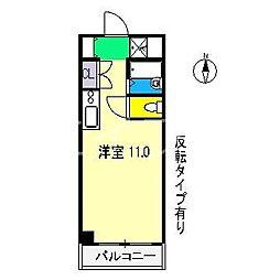 アドヴァンス610[3階]の間取り