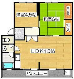サイトウマンション[101号室]の間取り