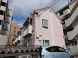 大阪府吹田市岸部南1丁目の賃貸アパートの外観