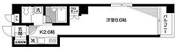 東京都文京区白山4丁目の賃貸マンションの間取り