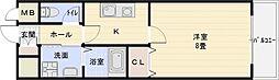 エクセル1[6階]の間取り