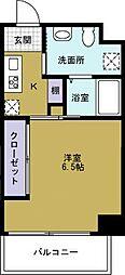 JJ COURT市岡元町[8階]の間取り
