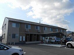 広島県東広島市八本松飯田7丁目の賃貸アパートの外観