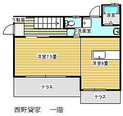 [一戸建] 千葉県船橋市高根台4丁目 の賃貸【/】の間取り