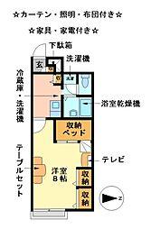 ESPASIONII[2階]の間取り