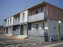 山口県山陽小野田市大字山川の賃貸アパートの外観