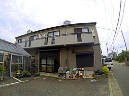 兵庫県宝塚市山本東2丁目の賃貸アパートの外観