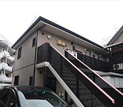 神奈川県横浜市中区本牧間門の賃貸アパートの外観