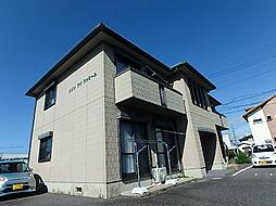 メゾン アイ ファミーユ A棟[201号室]の外観