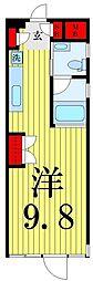 CB HOUSE[302号室]の間取り