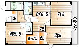 グリーンハイム田原新町[2階]の間取り