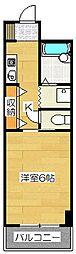 フェニックス二日市第一ビルディング[3-5F号室]の間取り
