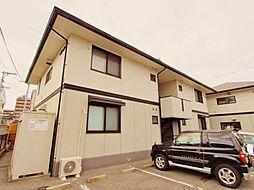 広島県広島市安佐南区中須2丁目の賃貸アパートの外観