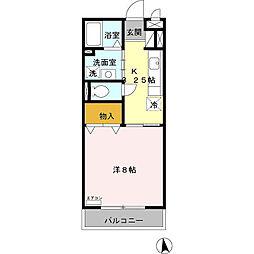 BAY HOUSE[3階]の間取り