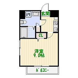 グランフォースお花茶屋[10階]の間取り