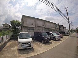 大阪府池田市桃園1丁目の賃貸アパートの外観