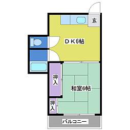 江井島ビル[3階]の間取り